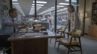 Tom Hanks (as Ben Bradlee) and Meryl Streep (as Kay Graham) star in Twentieth Century Fox's THE POST.