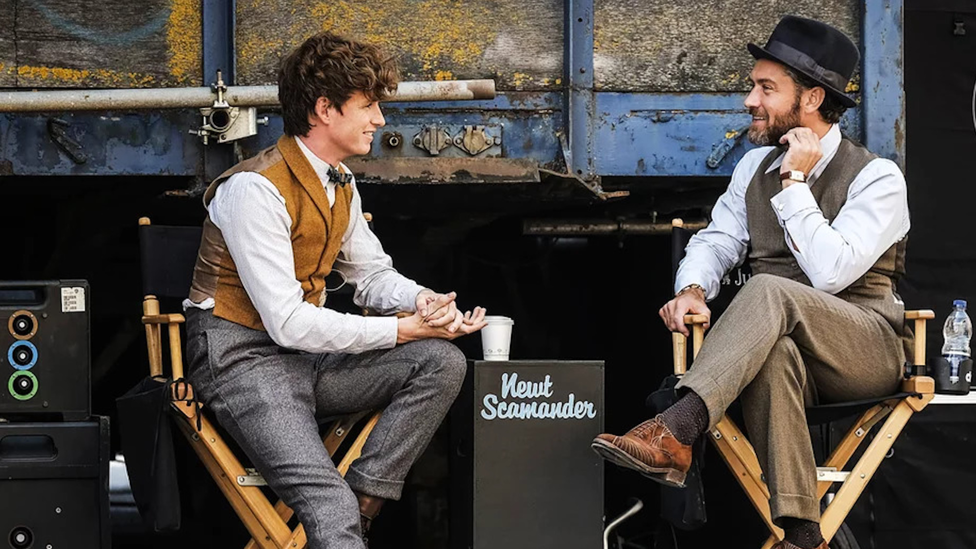 Eddie Redmayne and Jude Law - Fantastic Beasts: The Crimes of Grindelwald