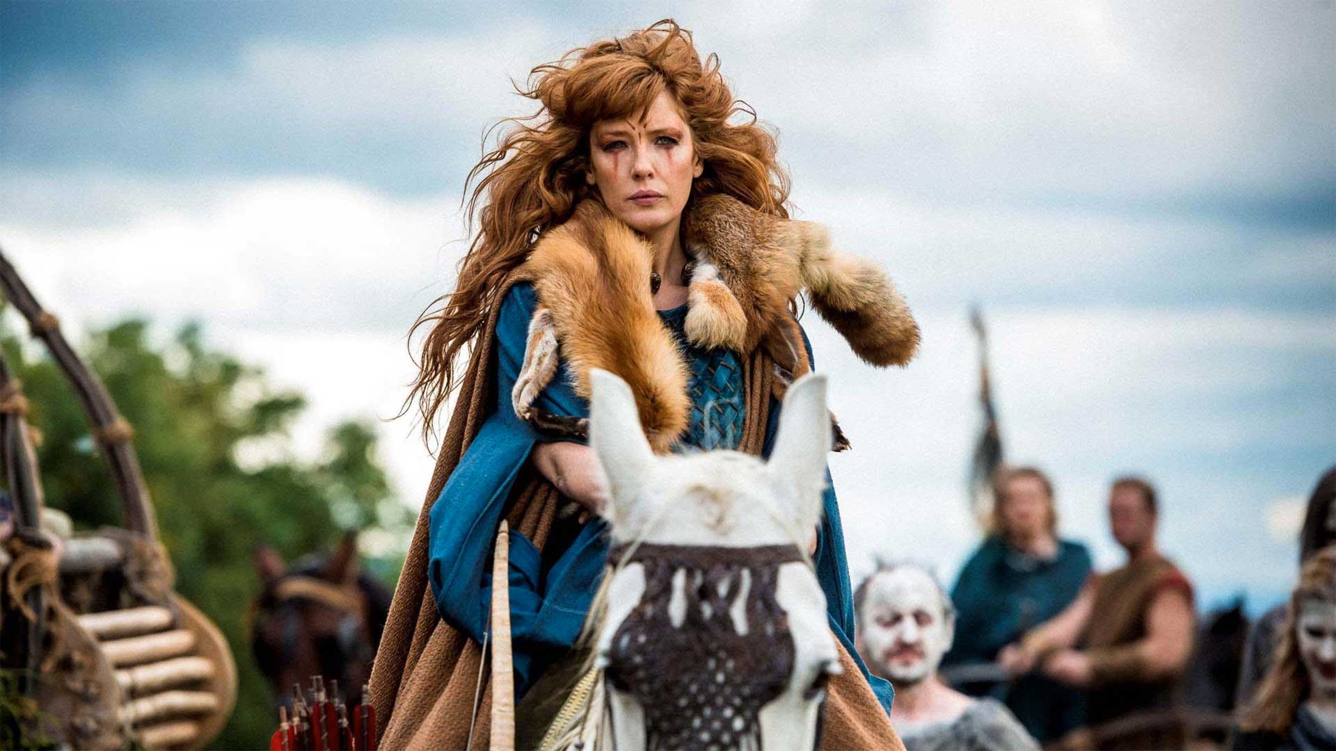 Kelly Reilly in 'Britannia' (Photo: Sky)