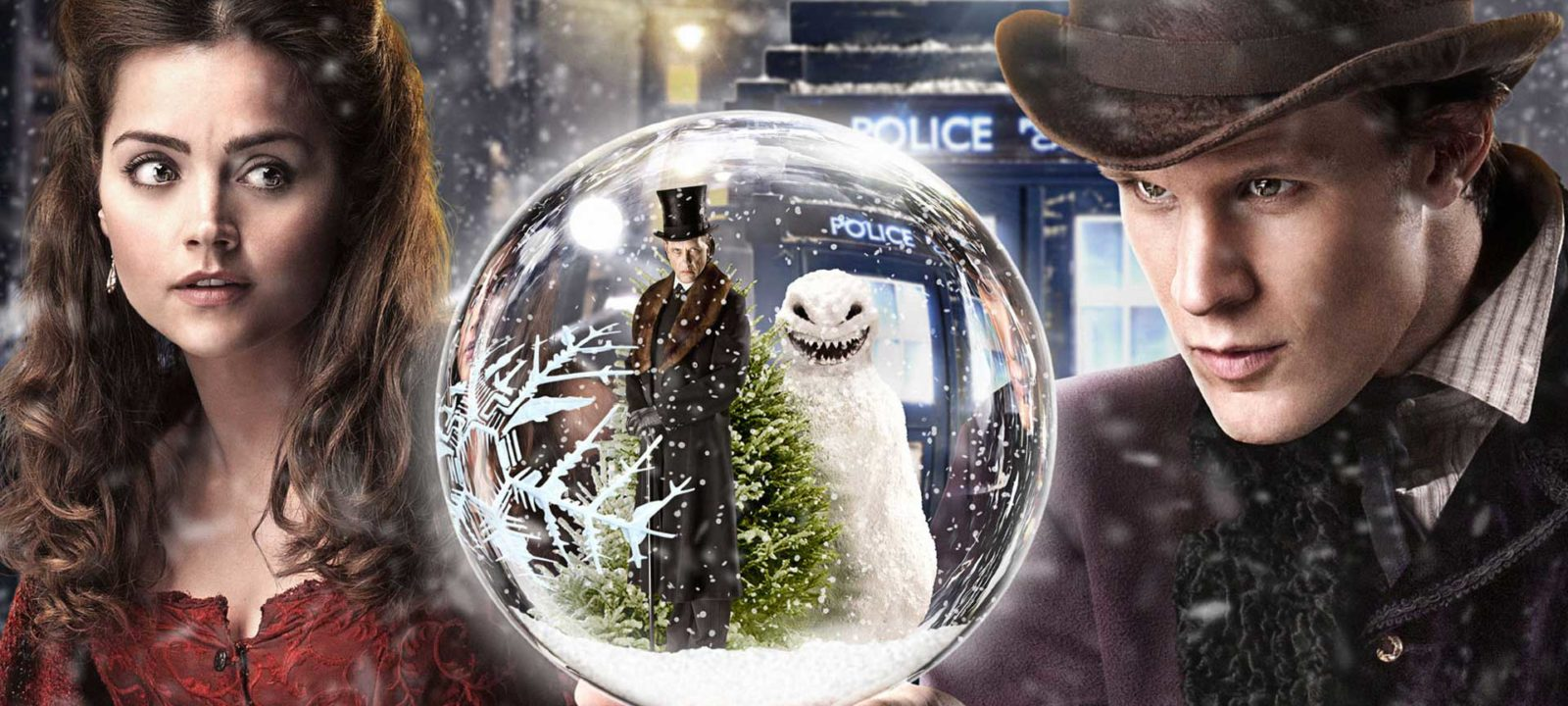 'The Snowmen' (Photo: BBC)