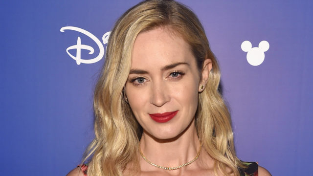Actor Emily Blunt of MARY POPPINS RETURNS took part today in the Walt Disney Studios live action presentation at Disney's D23 EXPO 2017 in Anaheim, Calif. MARY POPPINS RETURNS will be released in U.S. theaters on December 25, 2018.