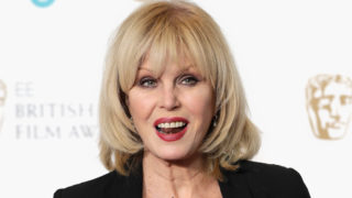 Joanna Lumley attends The EE British Academy Film Award, BAFTA, nominations announcement at BAFTA on January 9, 2018 in London, England.