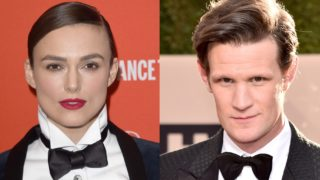 Keira Knightley and Matt Smith composite