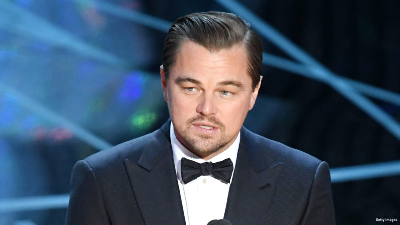 Actor Leonardo DiCaprio speaks onstage during the 89th Annual Academy Awards at Hollywood & Highland Center on February 26, 2017 in Hollywood, California.