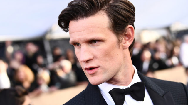 Actor Matt Smith attends the 24th Annual Screen Actors Guild Awards at The Shrine Auditorium on January 21, 2018 in Los Angeles, California.