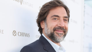 Actor Javier Bardem at The Chivas Venture $1m Global Startup Competition at LADC Studios on July 13, 2017 in Los Angeles, California.