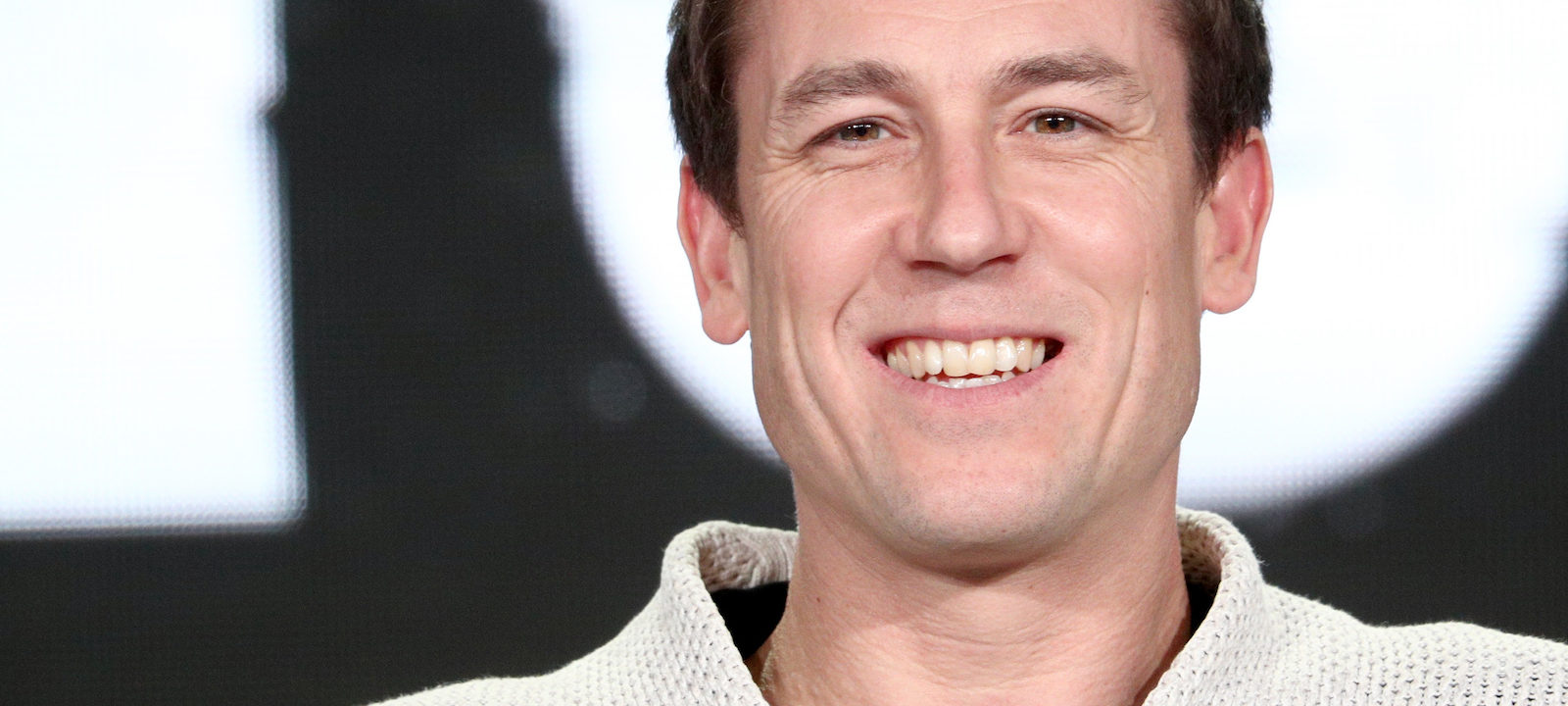 Actor Tobias Menzies of 'The Terror' speaks onstage during the AMC Networks portion of the 2018 Winter Television Critics Association Press Tour at The Langham Huntington, Pasadena on January 13, 2018 in Pasadena, California.