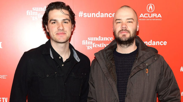 "Maclain Way (L) and Chapman Way attend the 2018 Sundance Film Festival ""Wild Wild Country"" premiere at Egyptian Theatre on January 24, 2018 in Park City, Utah."