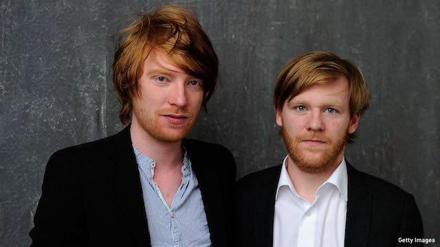 Domhnall and Brian Gleeson. (Photo: Getty Images)
