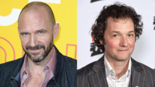 Composite image of Ralph Fiennes and Chris Addison