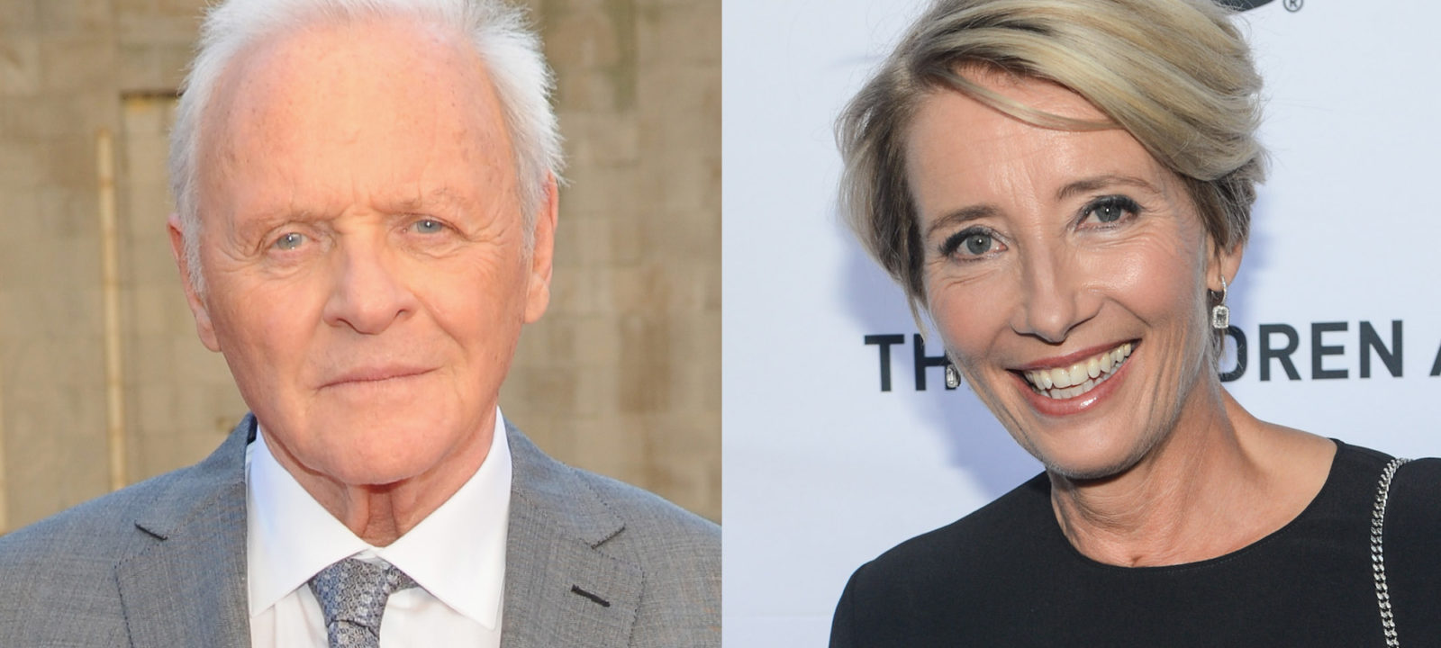 Composite image of Sir Anthony Hopkins and Emma Thompson