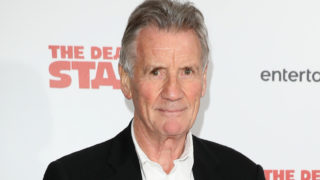 Michael Palin arriving at 'The Death Of Stalin' UK Premiere held at Curzon Chelsea on October 17, 2017 in London, England.