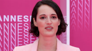 "Phoebe Waller-Bridge from the series ""Killing Eve"" attends ""Killing Eve"" and ""When Heroes Fly"" screening during the 1st Cannes International Series Festival at Palais des Festivals on April 8, 2018 in Cannes, France."