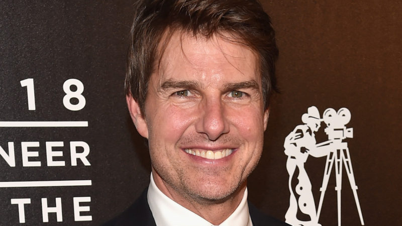 Actor Tom Cruise attends the 2018 Will Rogers ?Pioneer of the Year? Dinner Honoring Tom Cruise at Caesars Palace during CinemaCon, the official convention of the National Association of Theatre Owners, on April 25, 2018 in Las Vegas, Nevada.