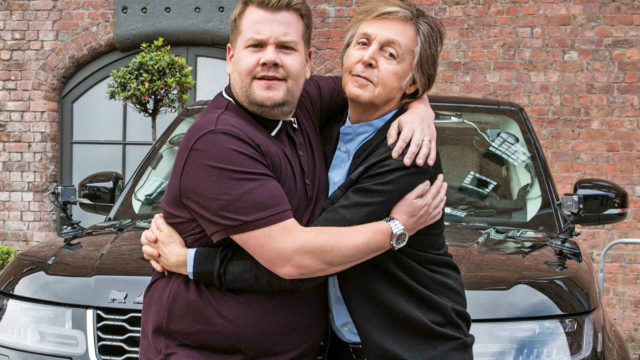 Corden McCartney Carpool Karaoke