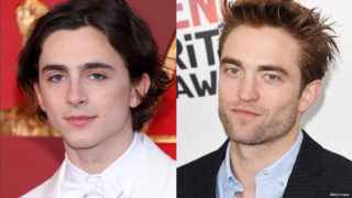 Composite image of Timothée Chalamet and Robert Pattinson