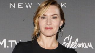 Kate Winslet attends the Longines Masters of New York at Nassau Coliseum on April 27, 2018 in Uniondale New York