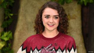 Maisie Williams attends the 'Early Man' World Premiere held at BFI IMAX on January 14, 2018 in London, England.