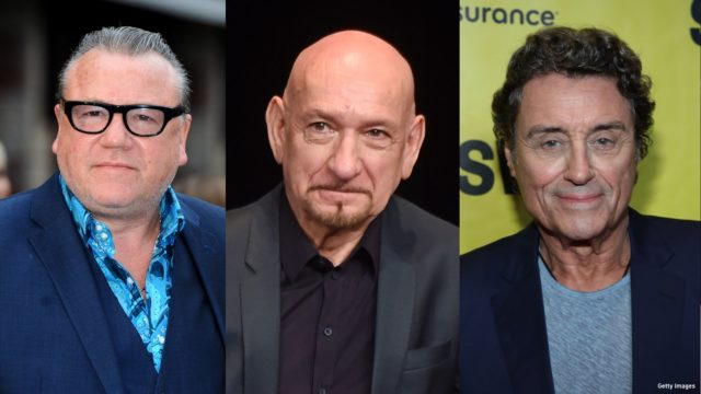 Composite photo of Ray Winstone, Sir Ben Kingsley, and Ian McShane
