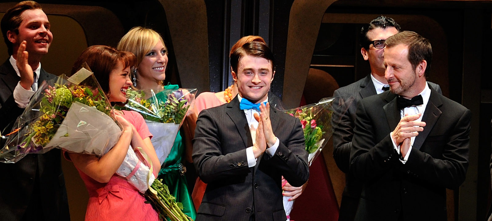 """How To Succeed In Business Without Really Trying"" Broadway Opening Night – Arrivals & Curtain Call"