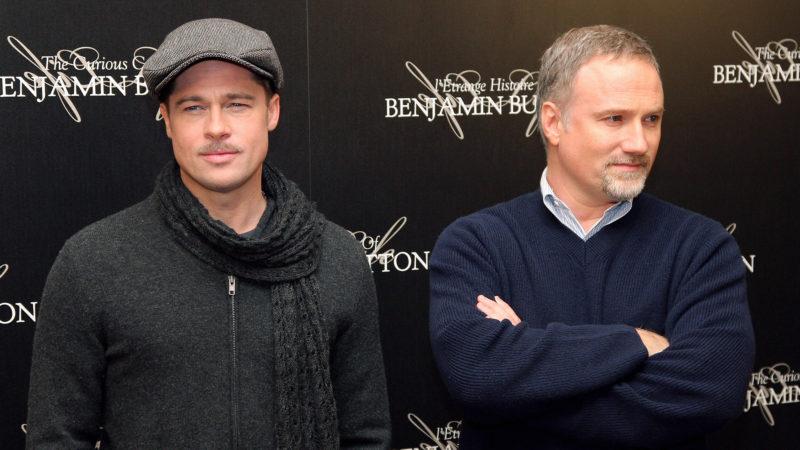 US actor Brad Pitt (L), starred in The C