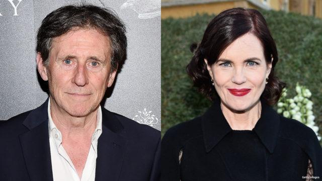 Composite image of Gabriel Byrne and Elizabeth McGovern.