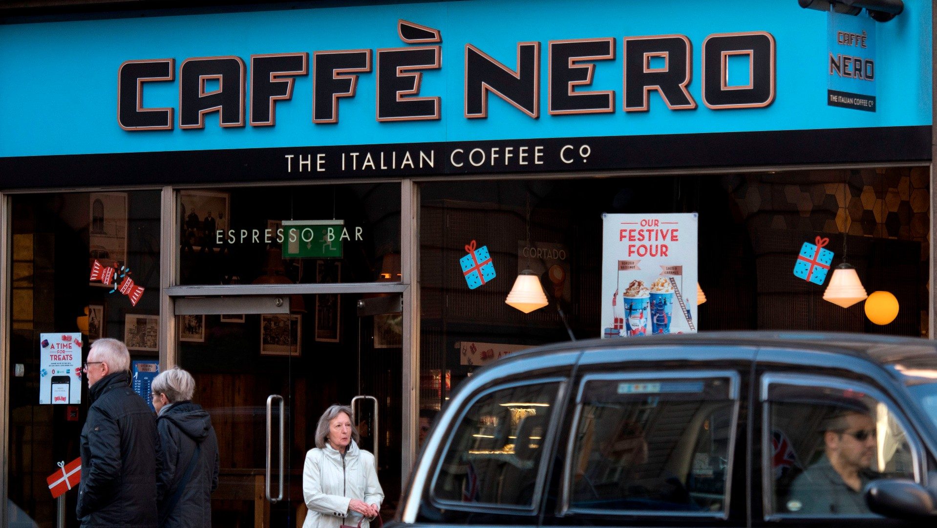 Caffe Nero.