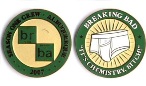 Win a <i>Breaking Bad</i> Challenge Coin