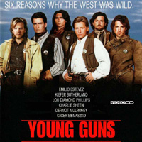 Guilty Pleasures: The Young Studs of <i>Young Guns</i>