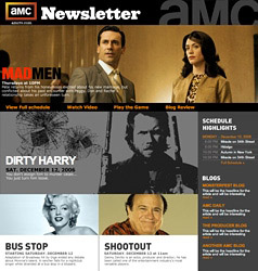 Sign up for AMC's Monthly Newsletter