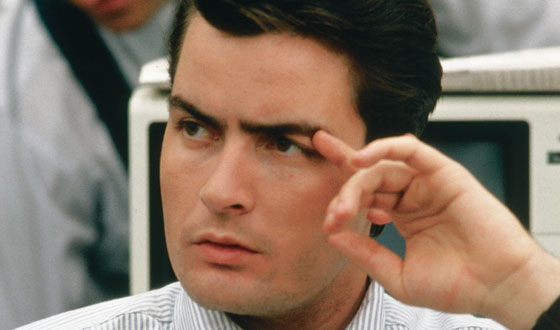 How Charlie Sheen Turned Into a <i>Wall Street</i> Player