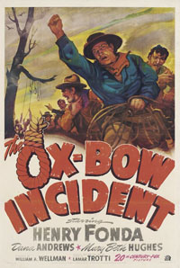 Henry Fonda and Harry Morgan Succumb to Mob Rule in <i>The Ox-Bow Incident</i>