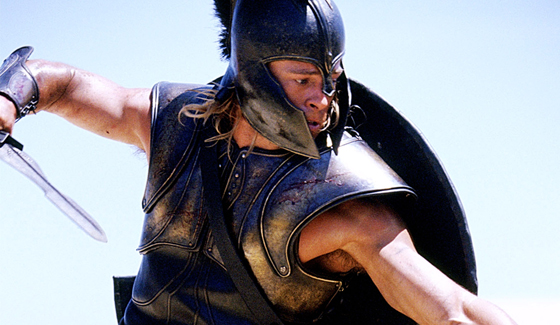 Is <i>Troy</i> the Hottest Brad Pitt Role Ever?