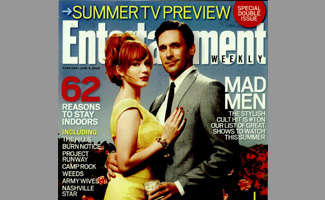 <i>Entertainment Weekly</i> Puts <i>Mad Men</i>&#8216;s Season 2 Front and Center