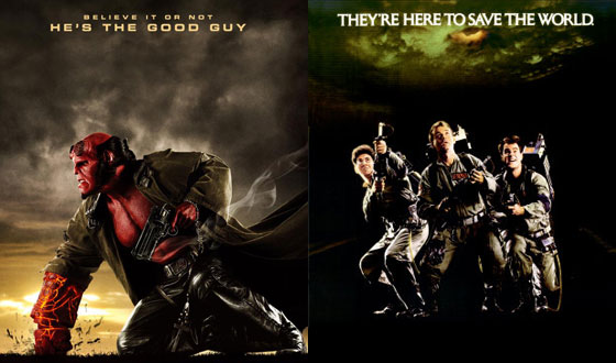 Now and Then &#8211; <I>Hellboy II: The Golden Army</I> and <I>Ghostbusters</I>
