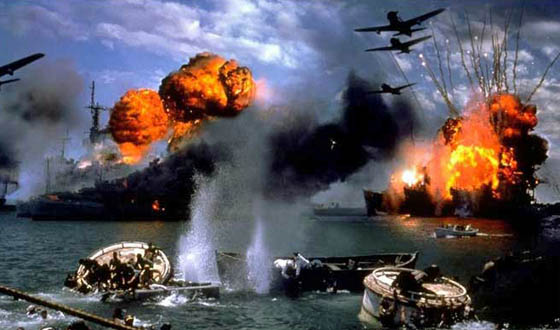 Recreated Attack in <i>Pearl Harbor</i> Comes Under Attack