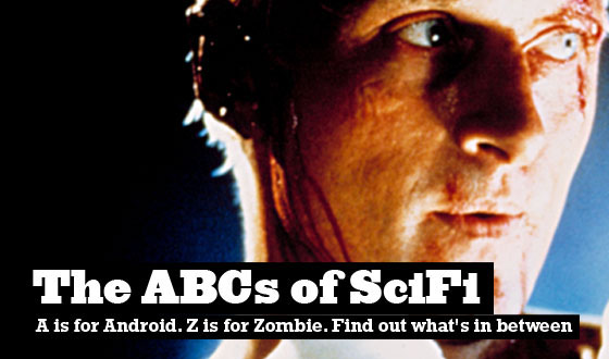 A Is for Android; Z Is for Zombie