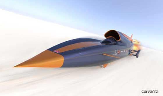 The Bloodhound Car Can Outrace Superman