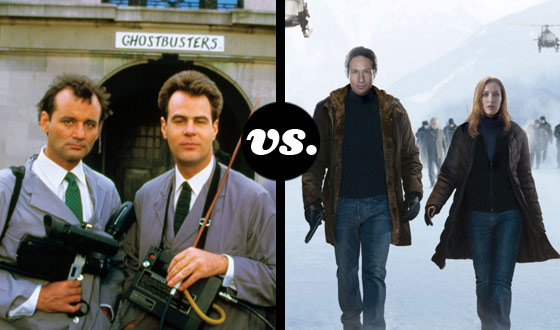 Master Monster Hunter Tournament – Ghostbusters (No. 6) vs. Mulder and Scully (No. 11)