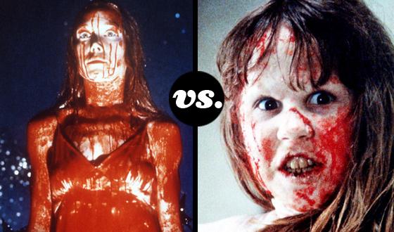 Greatest Supernatural Teen Tournament – Round 2: Carrie White (No. 3) vs. Regan MacNeil (No. 6)