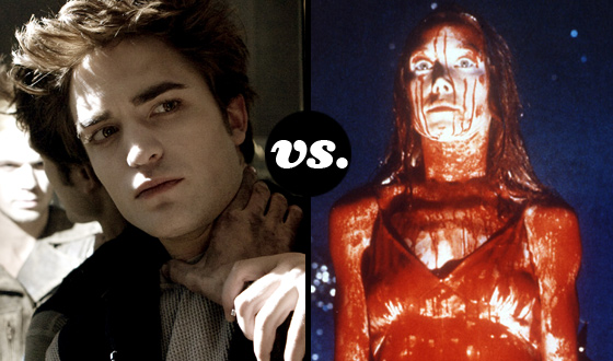 Greatest Supernatural Teen Tournament – Semifinals: Edward Cullen (No. 2) vs. Carrie White (No. 3)
