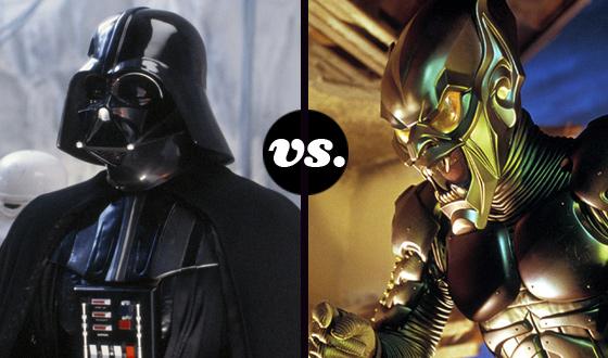 Green Goblin Tests His Super Serum Against Vader's Dark Side