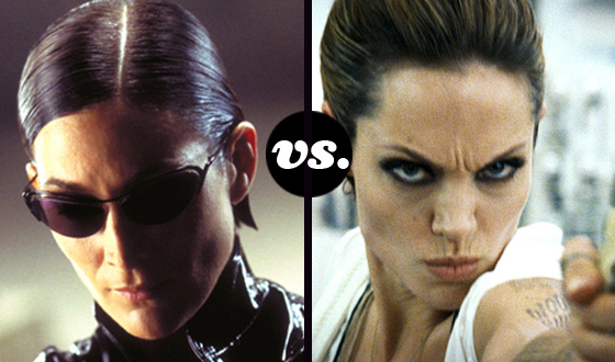 <em>The Matrix</em>&#8216;s Trinity and <em>Wanted</em>&#8216;s Fox Battle for the Baddest Babe Title