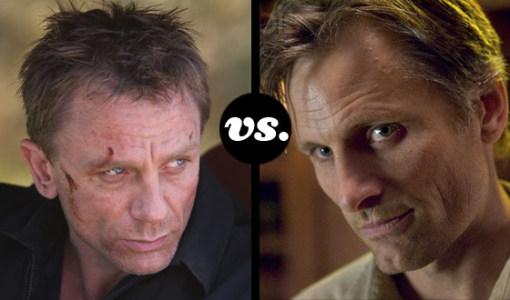 Enforcers Tournament Finds 007 and Tom Stall (<I>A History of Violence</I>) in Round 1 Showdown