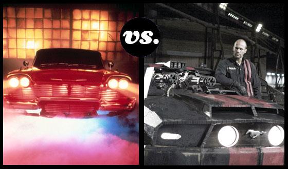 Christine vs. the Bond-mobile — Killer Cars Race to the Death