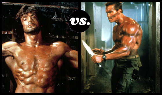 Rambo, Riddick, Reeves – Which Action Star Could Terminate the Rest?