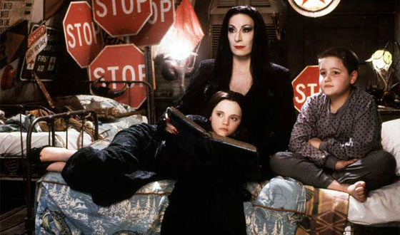 Happy Upcoming Mother's Day, Morticia! You May Be the Greatest Movie Mom Ever