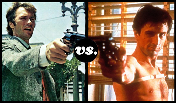 Dirty Harry and Travis Bickle Gun for Glory in the Anti-Hero Tournament