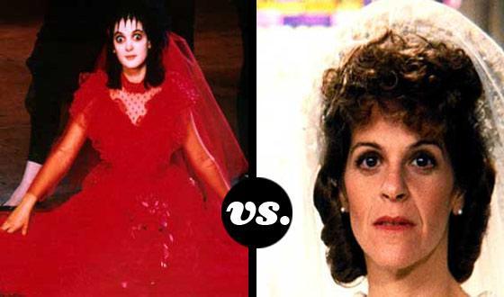 Horror Brides Tourney, Round One: <em>Beetlejuice</em> (No. 6) vs. <em>Haunted Honeymoon</em> (No. 11)