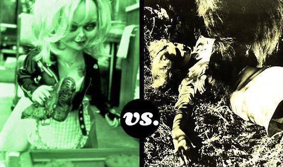 Horror Brides Tournament, Round One: <em>Bride of Chucky</em> (No. 4) vs. <em>Bride of the Gorilla</em> (No. 13)